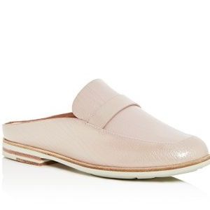 Kenneth Cole Rose Patent Leather Loafer Mule
